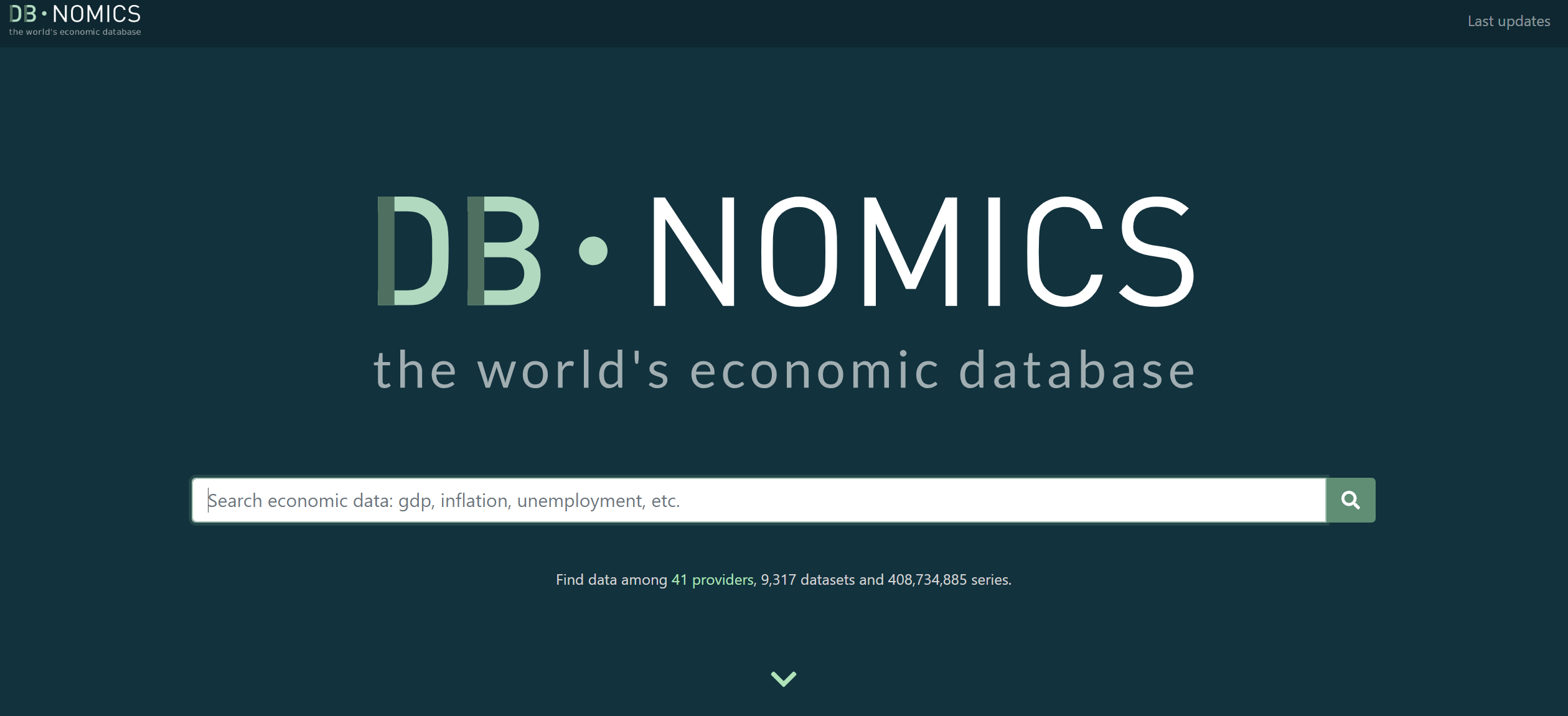 Access the free economic database DBnomics with R